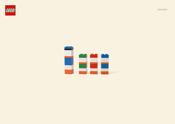 Publicité Lego, Donald, Riri, Fifi et Loulou