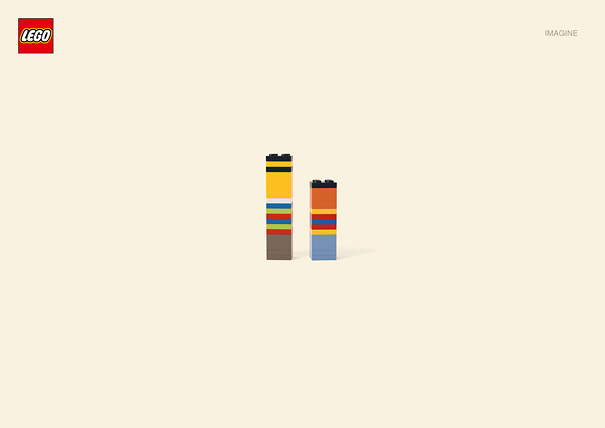 Publicité Lego, Ernest et Bart