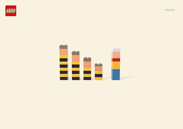 Publicité Lego, Lucky Luke et les Dalton