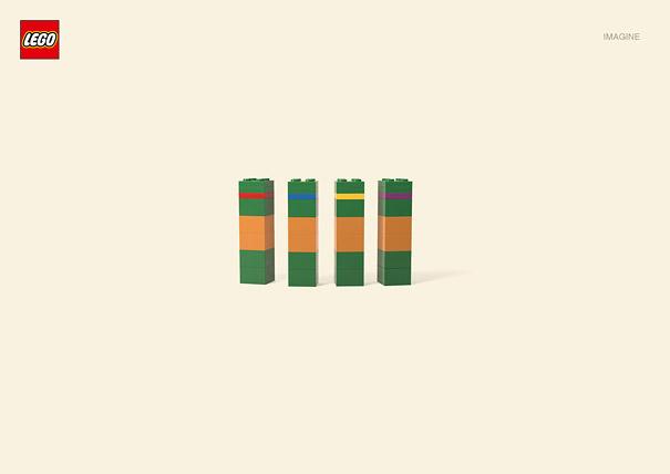 Publicité Lego, les Tortues Ninja