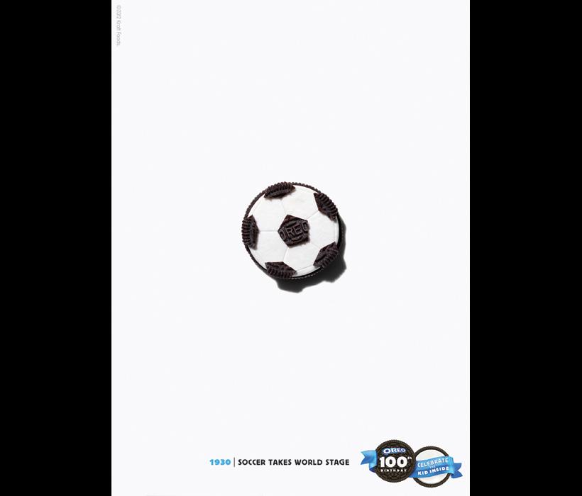 La coupe du monde de Football en Oreo - 1930 par DraftFCB