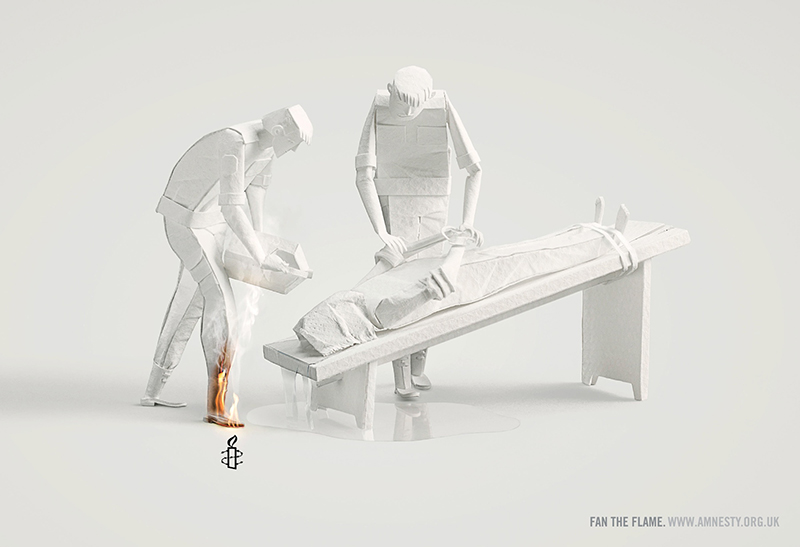 Publicité Amnesty International 2013 par Ogilvy & Mather - 3