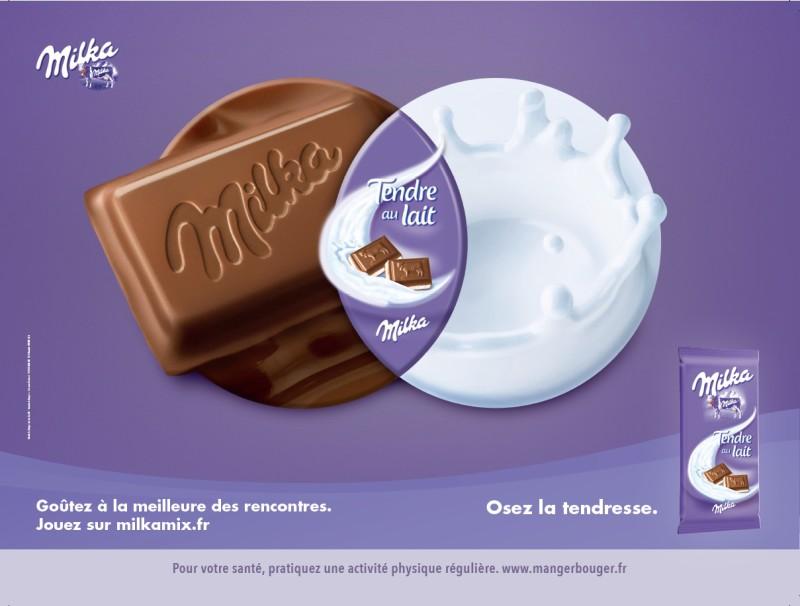 Publicité Milka par Romance - 3