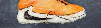 Des chaussures en sushi par Yujia Hu