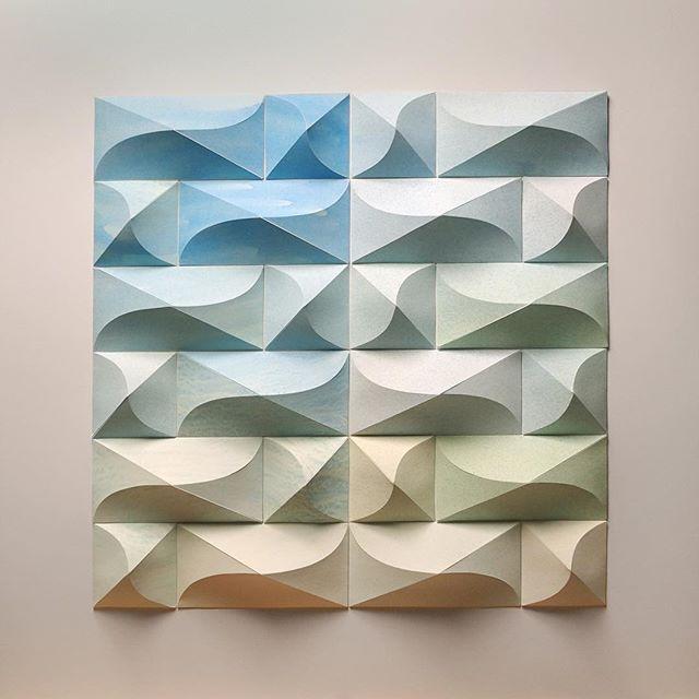 Matthew Shlian, sculpture en papier 1