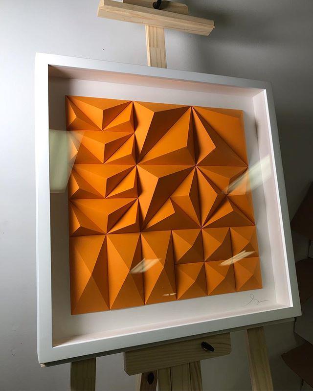 Matthew Shlian, sculpture en papier 2