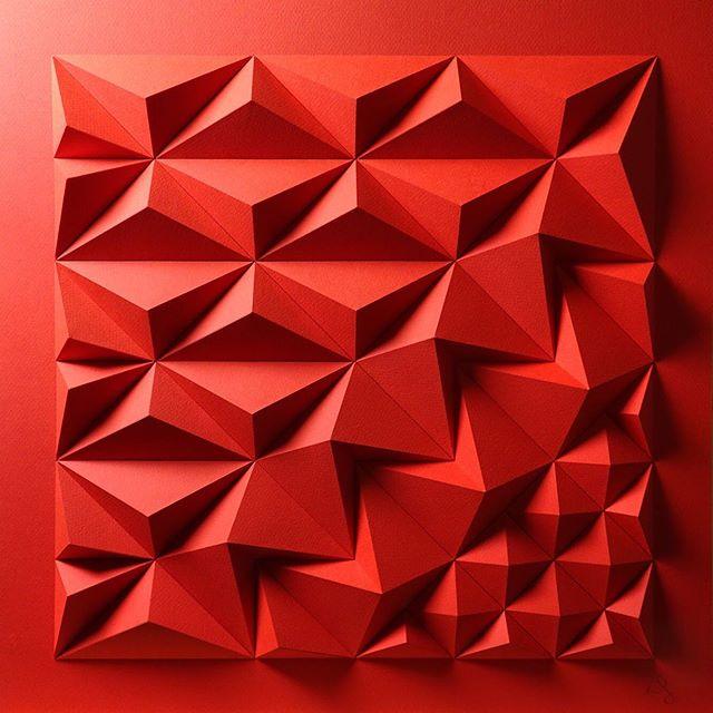 Matthew Shlian, sculpture en papier 3