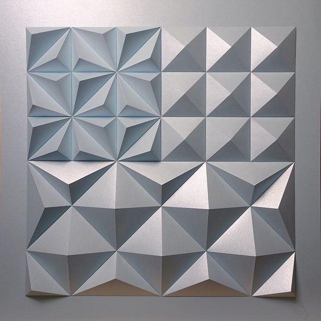 Matthew Shlian, sculpture en papier 4