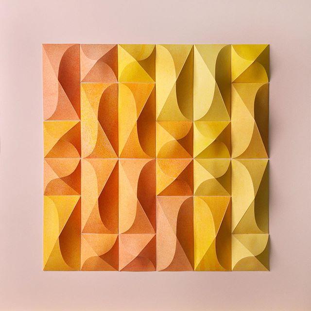 Matthew Shlian, sculpture en papier 5
