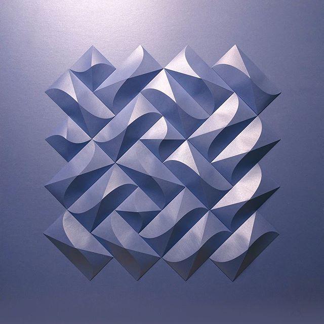 Matthew Shlian, sculpture en papier 6