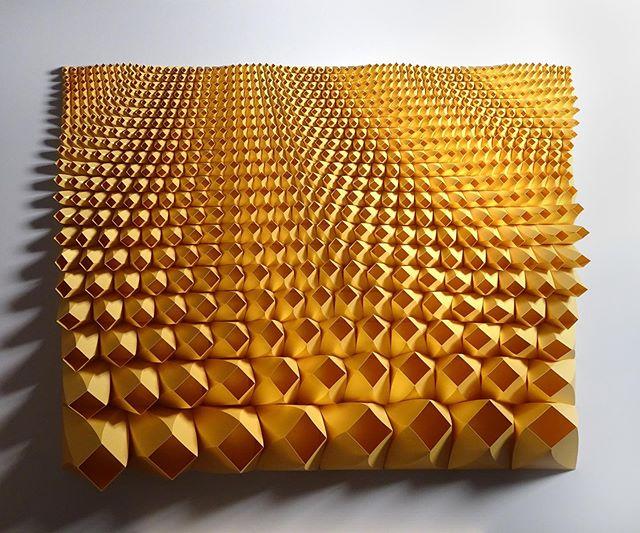 Matthew Shlian, sculpture en papier 9