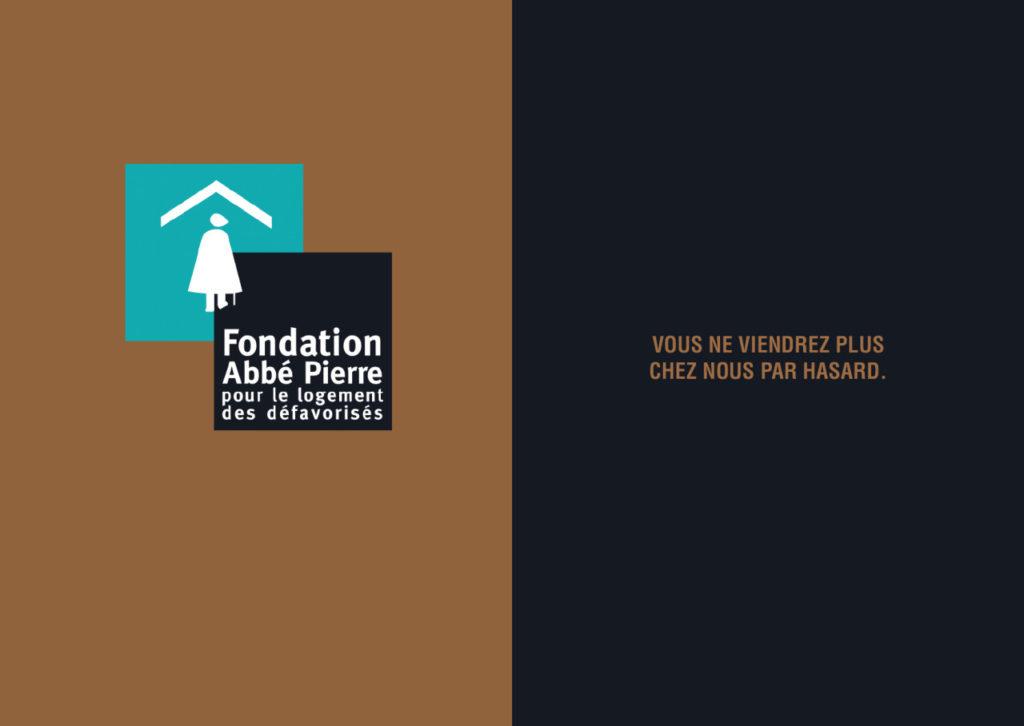 Mashup de publicité entre la fondation Abbé Pierre et Total - Toutes des pubs
