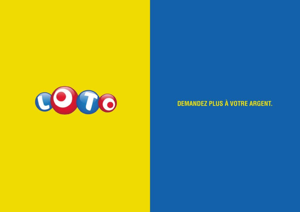 Mashup de publicité entre Loto et LCL - Toutes des pubs