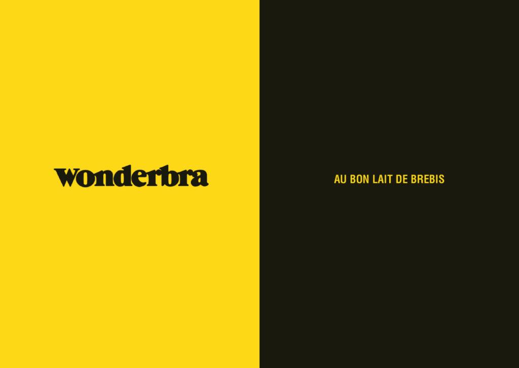 Mashup de publicité entre Wonderbra et Salakis - Toutes des pubs