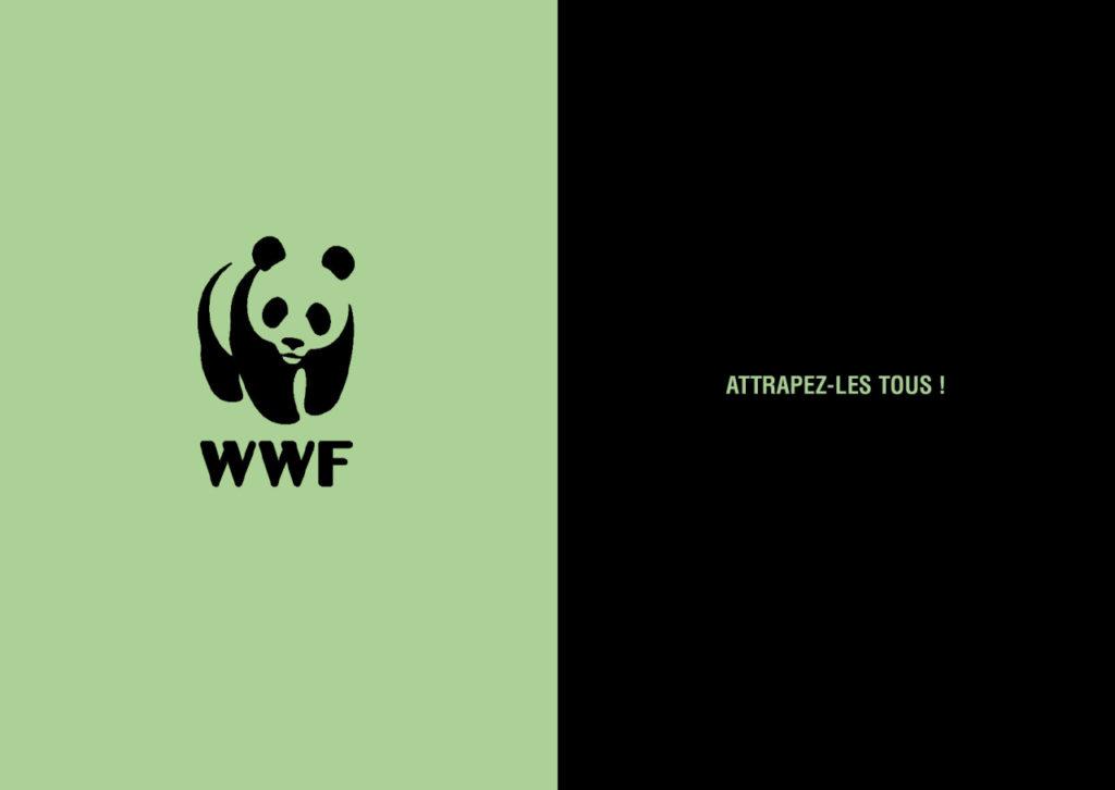 Mashup de publicité entre WWF et Pokemon - Toutes des pubs