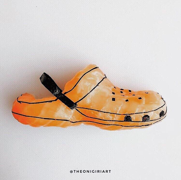 Des chaussures en sushi par Yujia Hu - 7