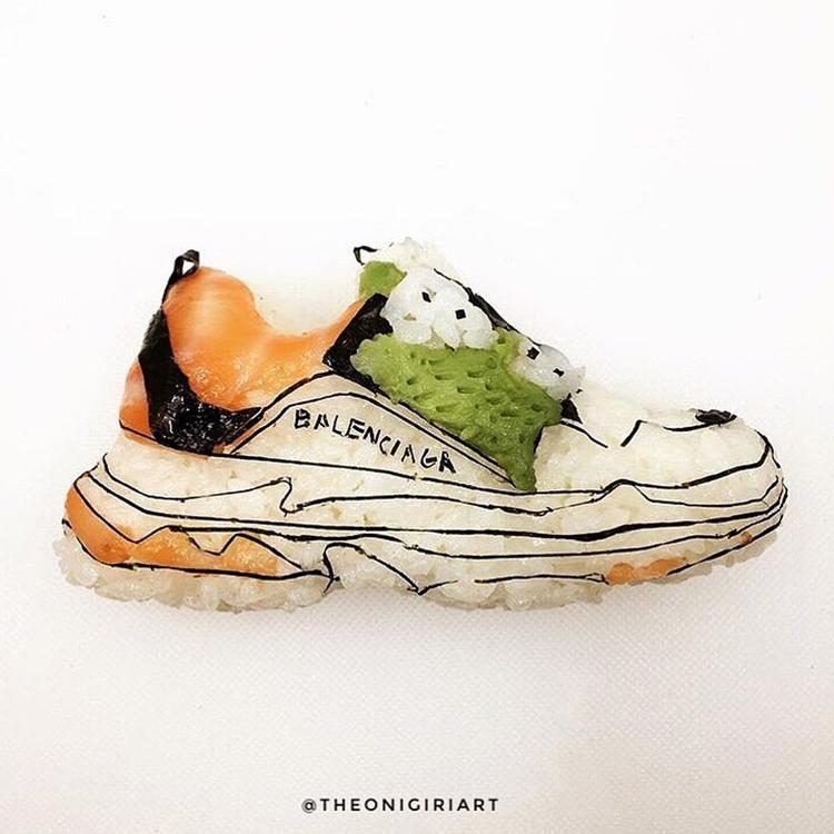 Des chaussures en sushi par Yujia Hu - 9
