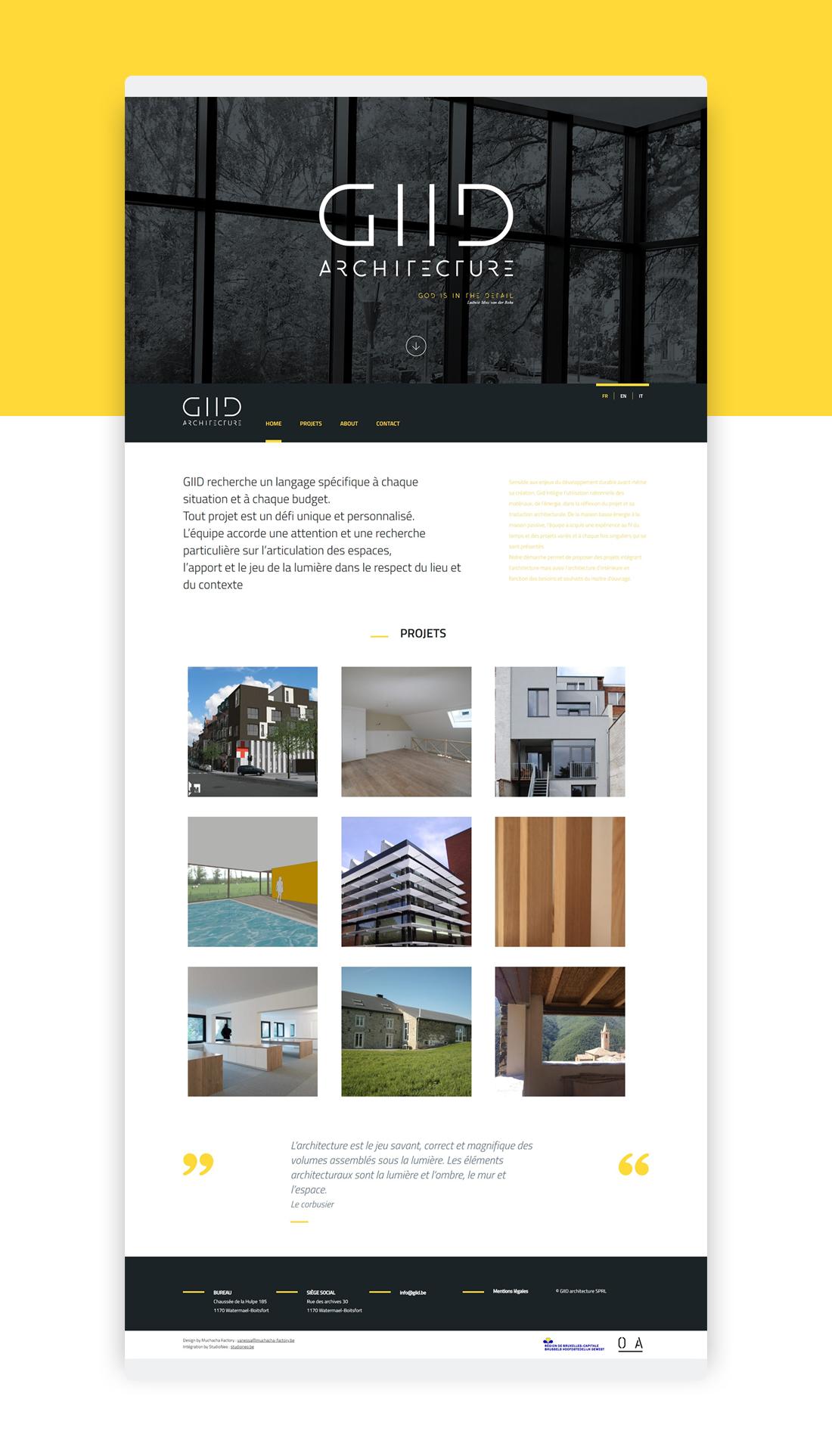 GIID Site internet
